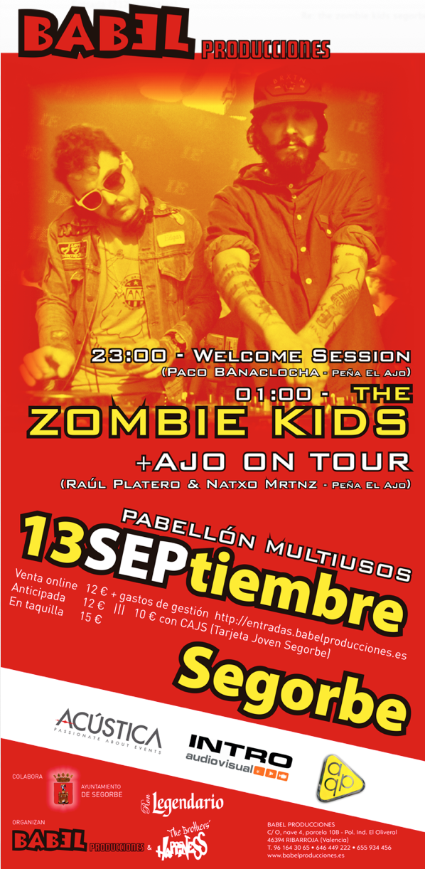 Cartel the zombie kids legendario